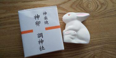 ウサギ好きの聖地、調神社へ参拝!パワースポットと置物で運気をゲット。車の振動で伏せる行動も